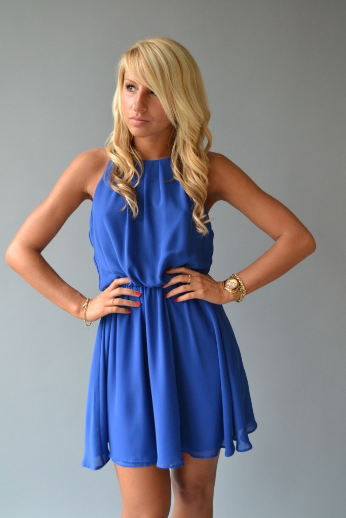 Electric Blue Dress $38