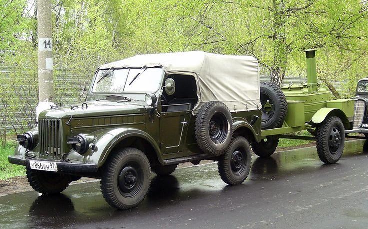 ГАЗ-69 и ГАЗ-46