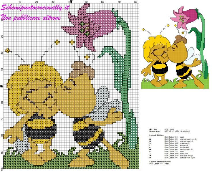 17 best images about cross stitch cartoons on pinterest for Alfabeti a punto croce per bambini