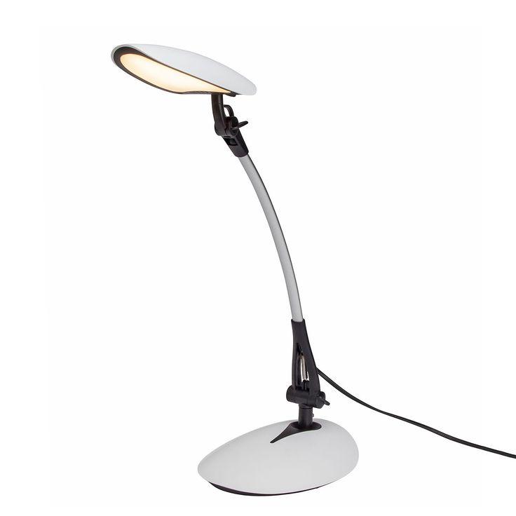 Best EEK A LED Schreibtischleuchte Sheldon flammig Schwarz Metall Brilliant Jetzt bestellen unter