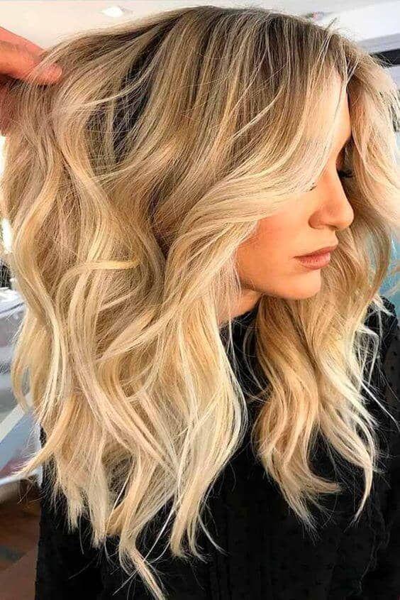 25 Honig Blonde Haircolor Ideen, die einfach wunderschön sind Heidi Klum hat ge…