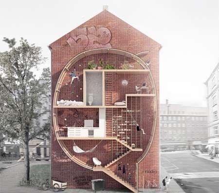 Micro appartamenti salva spazio, città del futuro più sostenibili