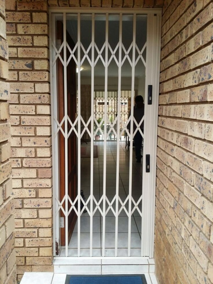 Home Security doors. This type of security door is widely used across South Africa and is one of the most practical security barrier design.