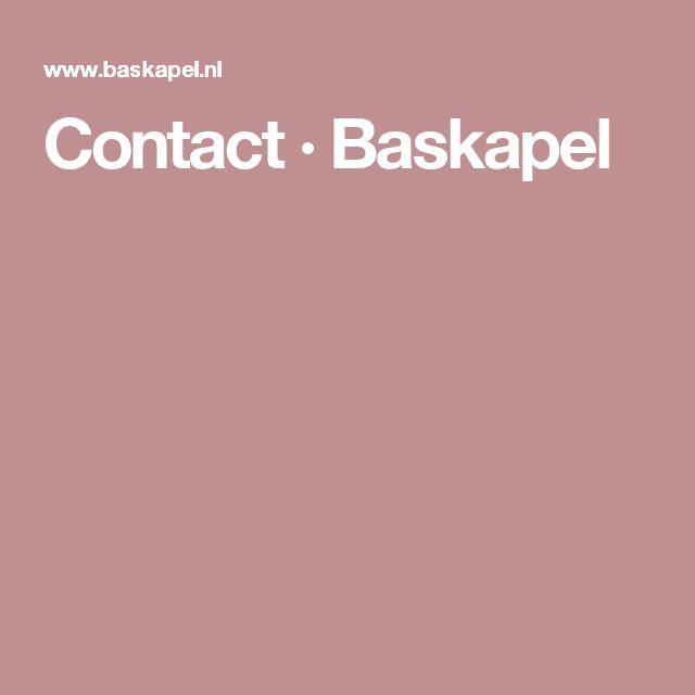 Contact · Baskapel