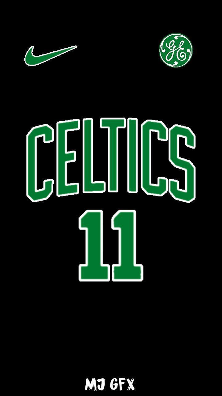 Pin By Evandracos On Celtics Nba Wallpapers Kyrie Irving Logo Boston Celtics Wallpaper