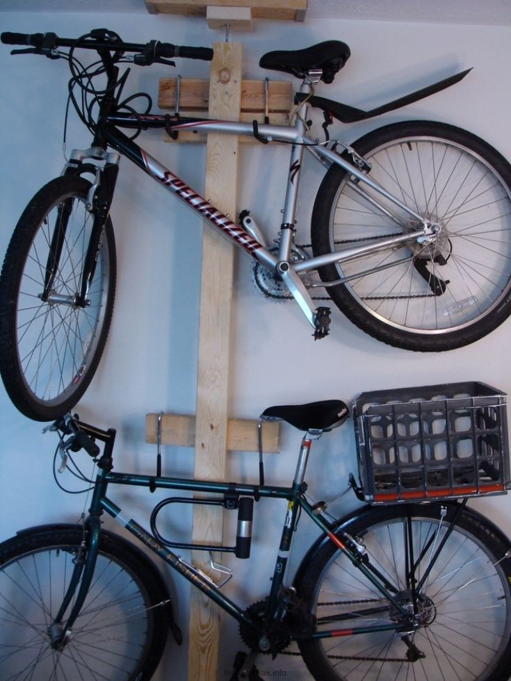 find this pin and more on bike parts bike storage racks for garage dyi