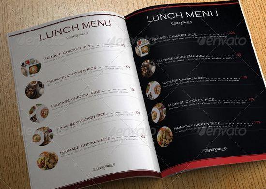 Luxury Restaurant Menu / Flyer Design