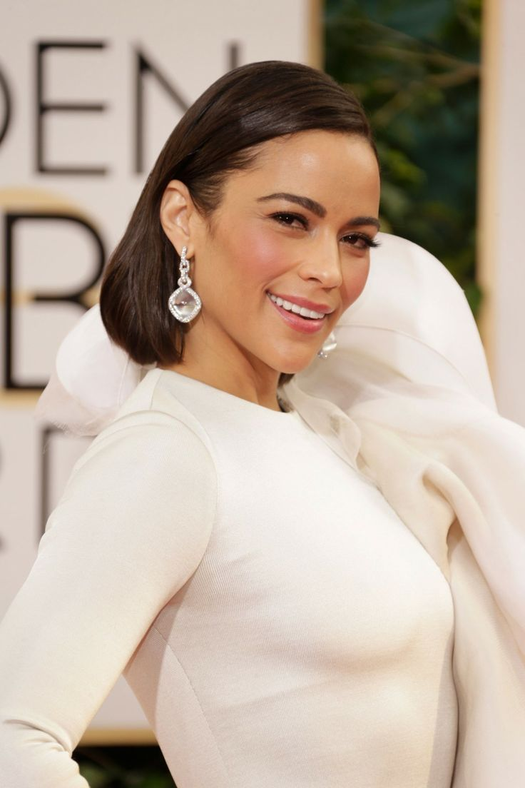 The 10 Best Beauty Looks from the Golden Globes - Paula Patton