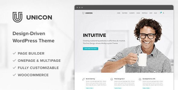 Themeforest WordPress – Unicon | Design-Driven Multipurpose Theme on Themeforest Free Download http://themeforestfreedownload.com