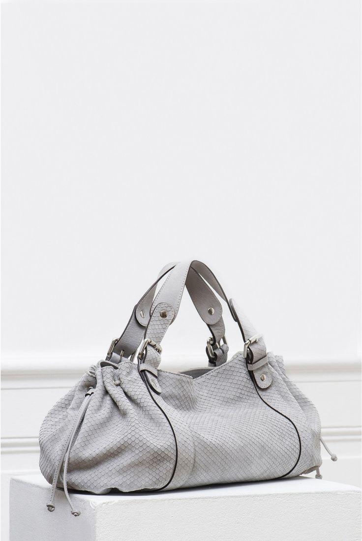 Le 24 heures zippé, sac gris   gerard darel