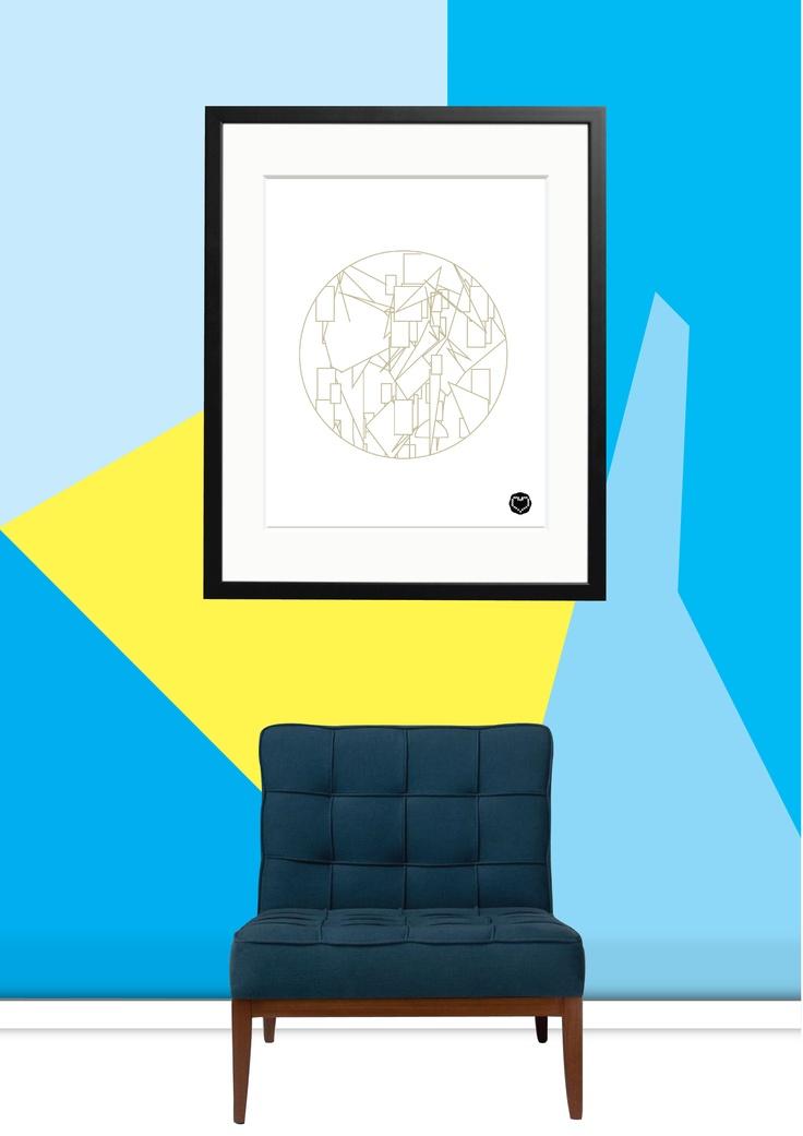 Wallpaper - 90 Degree Angle www.unwrapped.co.za