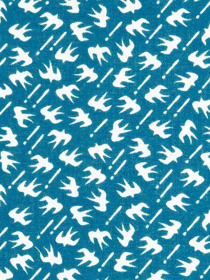 "[Towel] print Tenugui Komon washcloth swallow towel shop ""works! or honpo."