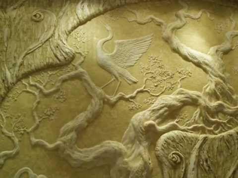 """Художественная лепка.Барельефы. """"Восточные мотиви"""". Wall sculpture, walls painting."""
