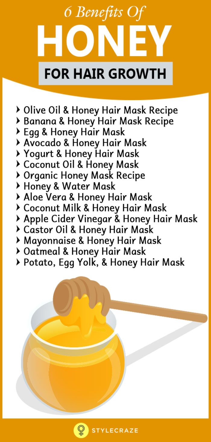 Most of us know honey as an alternative sweetener contributing to a healthier lifestyle. But who knew that slathering the sticky, sweet substance onto your hair could help? Okay, some of you probably did know honey has conditioning properties. But did you know that it's also a great ingredient for boosting hair growth?