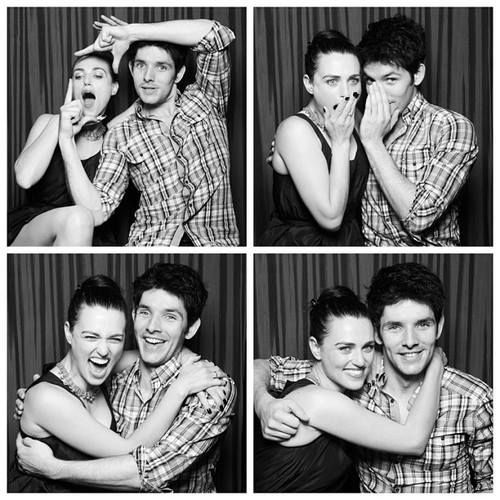 I love their relationship. <3 He'll always be her pet colin.