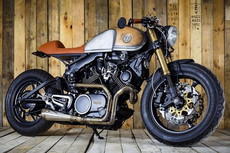 Yamaha XV750 Cafe Racer by Sparta Garage #motorcycles #caferacer #motos | caferacerpasion.com