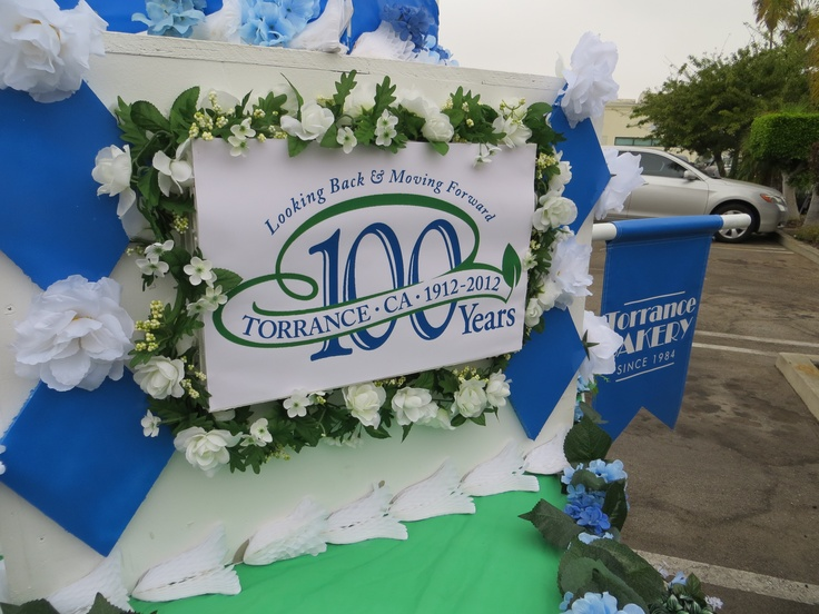 Detail of our float for the Centennial parade.