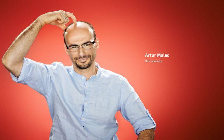 Artur Malec DTP operator