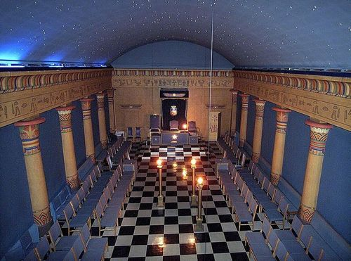Egyptian Styled Freemasons Lodge