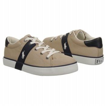 Polo by Ralph Lauren Gilbert Grd Shoes (Khaki/Navy) - Kids' Shoes - 5.0 M
