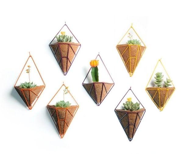 Оригинальные подвесные кашпо в современном стиле  https://vk.com/faqindecor?w=page-69527163_48411771