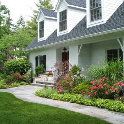 landscaping front yard without grass small yards steep slope designs