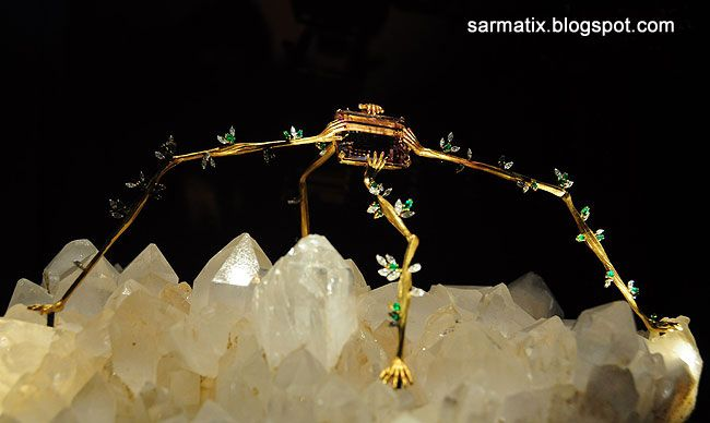 Spider of the Night - jewelry by Salvador Dali, Figueres, Spain.