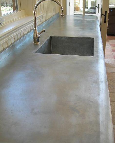 Zinc Countertop Diy : zinc countertops Zinc Countertops? Portland Interior Designer ...