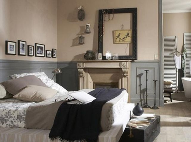 chambre couleur taupe leroy merlin chambre pinterest. Black Bedroom Furniture Sets. Home Design Ideas