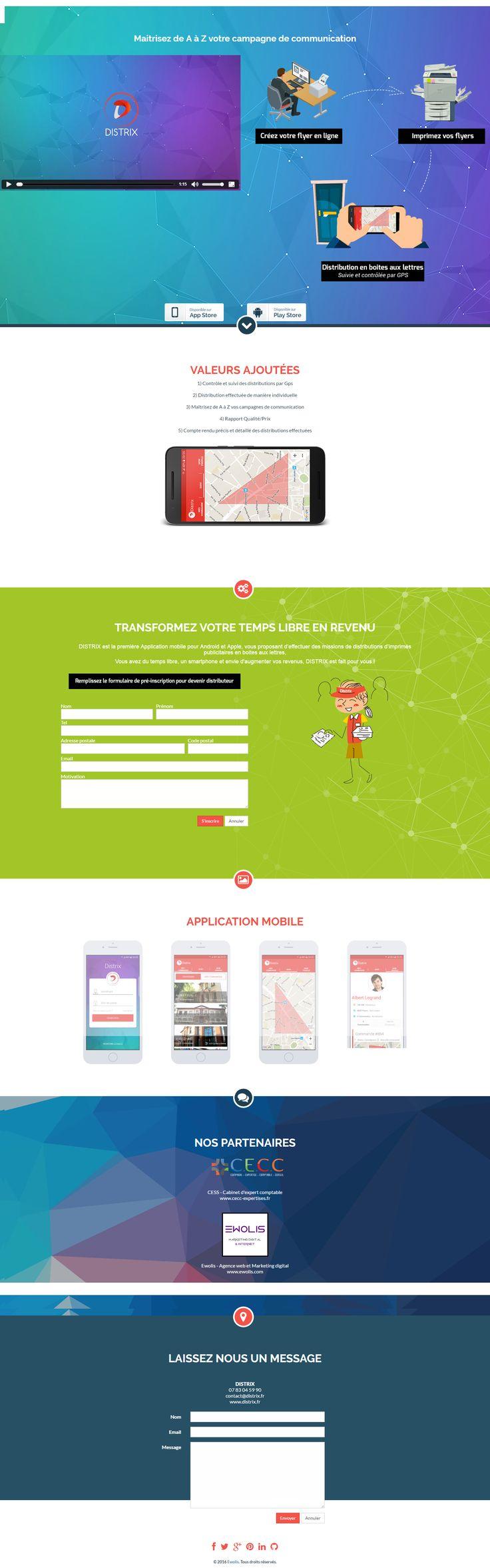 DISTRIX  Start-Up Toulousaine qui apporte une véritable révolution sur le marché de la communication et de la distribution de prospectus. Le concept mis en place par l'entreprise réunit sous une seule plate-forme tous les outils pour mettre en place des campagnes publicitaires. L'idée est d'automatiser et de rendre très accessible les campagnes de publicité et de communication.
