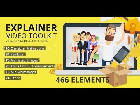 Explainer Video Toolkit (Videohive After Effects Templates