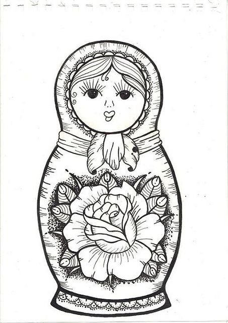 Russian Doll Graphic | Russian Doll | Flickr - Photo ...