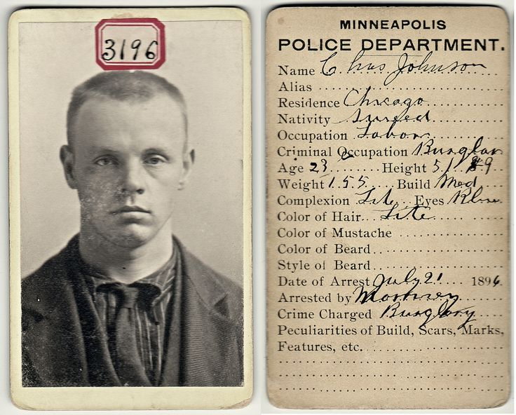 Prisoner No 3196 - Victorian Mug Shot Minneapolis - Vintage CDV Bertillon Photo - Antique Mugshot - Swedish - RESERVED for Sherwood Donahue. $25.00, via Etsy.