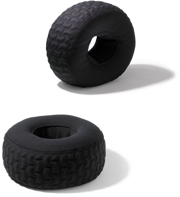 If loving a tire bean bag chair is wrong, I don't want to be right.
