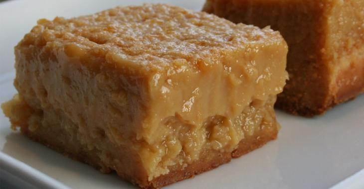 Carré à la tarte au sucre... ma bouchée gourmande par excellence!