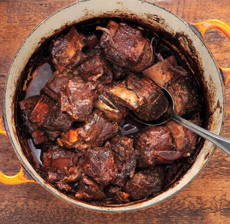 Red Wine-Braised Short Ribs, absolutely delicious! Made it last night!