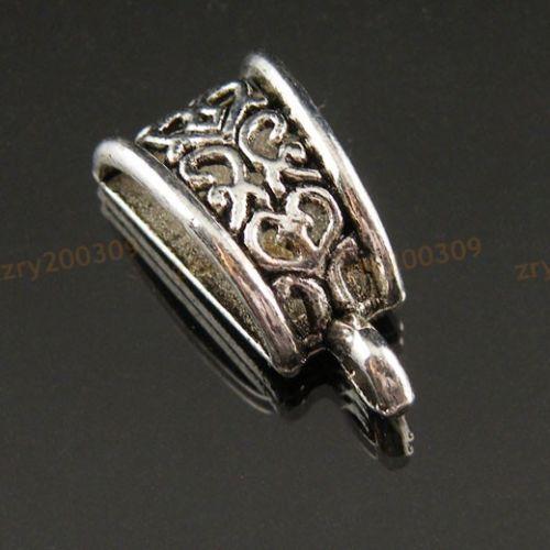 18Pcs-Tibetan-Silver-Bail-Bead-Fit-Charm-Bracelet-10x20mm-KB489