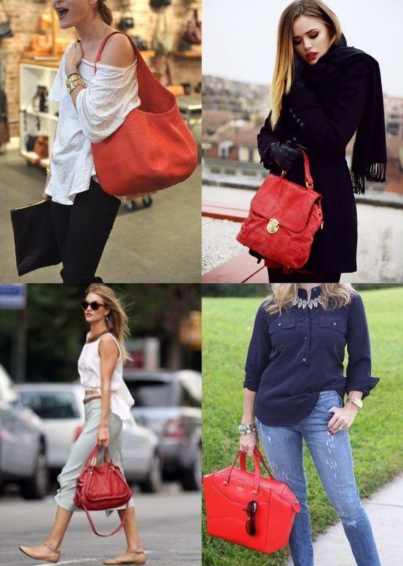 fashiontrademoda | Get the look: bolsa vermelha
