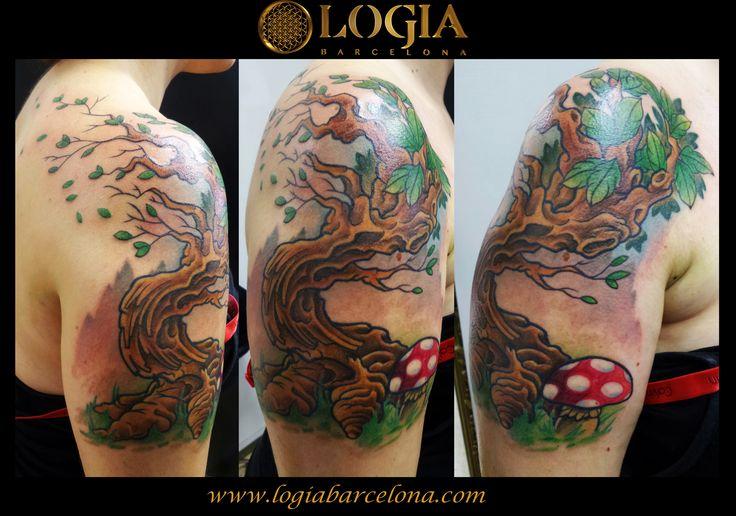 Φ JUANMA ZOMBIE Φ Info & Citas: (+34) 93 2506168 - Email: Info@logiabarcelona.com #logiabarcelona #logiatattoo #tatuajes #tattoo #tatuador #tattooink #tattoolife #tattooworld #tattoobarcelona #tattoosenbarcelona #ink #artisttattoo #inked #inktattoo #tattoocolor #tattooartwork #arbol #tree