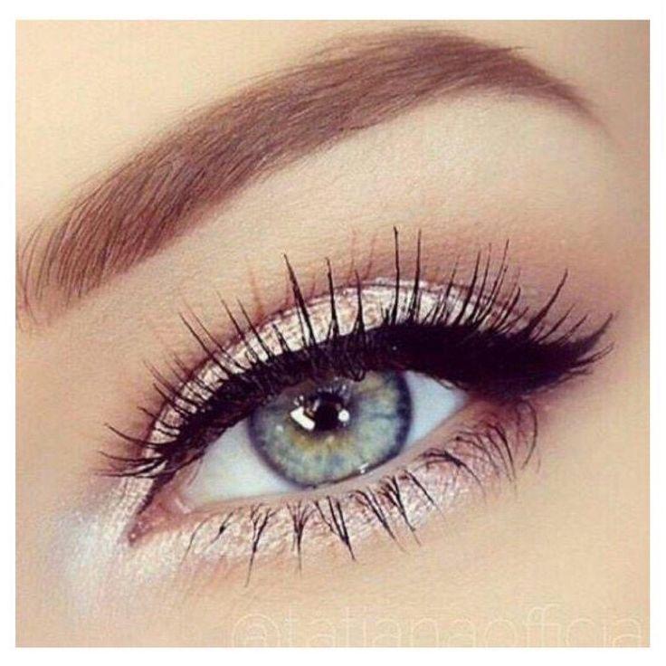 Love the wispy eye lashes