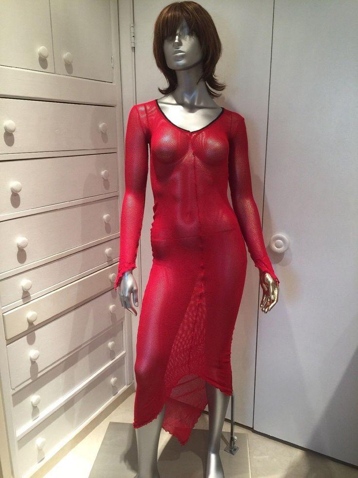 LIP SERVICE Fash-Ist Fishnet goth dress #48-59