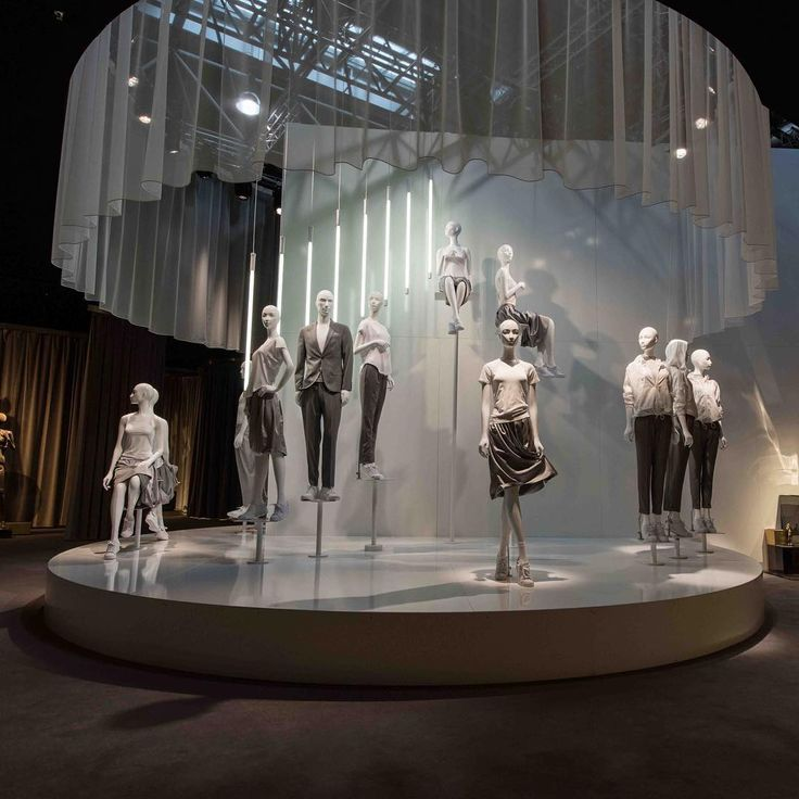 """EUROSHOP, Dusseldorf, Germany, """"Rise up and Shine.... Like there is no tomorrow"""", for Hans Boodt Mannequins, pinned by Ton van der Veer"""
