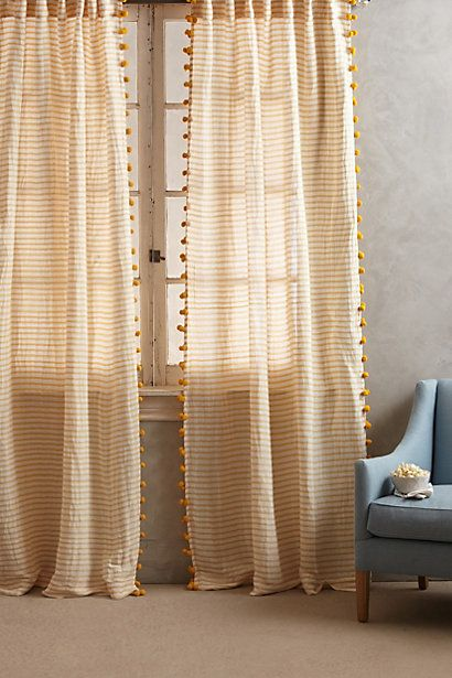 pom tassel curtain tassels family rooms and doing something