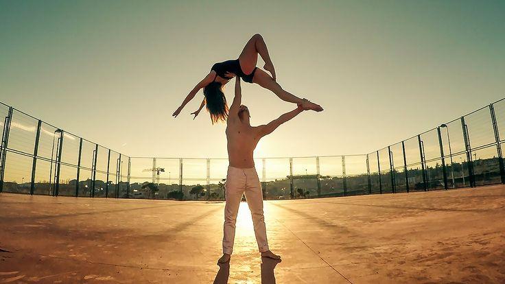 Duo b-lift    Unconditionally    Acro dance, lifts coreo HD    versión m...
