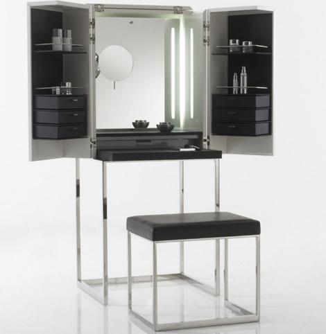 Full Vanity Makeup Station!