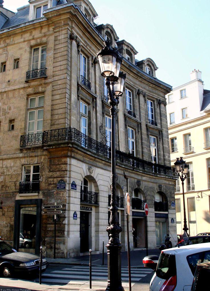 Haussmann Architecture; building in Place de Victories, 1st arrondissement.