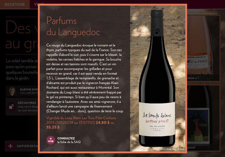 Des vins au grand air - La Presse+