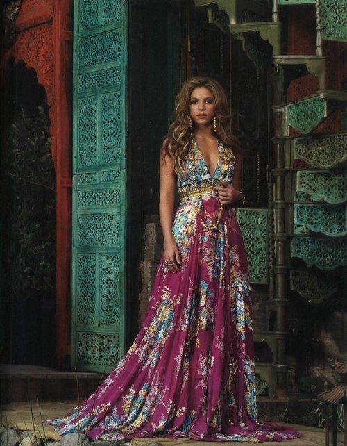 Shakira: Colombian singer