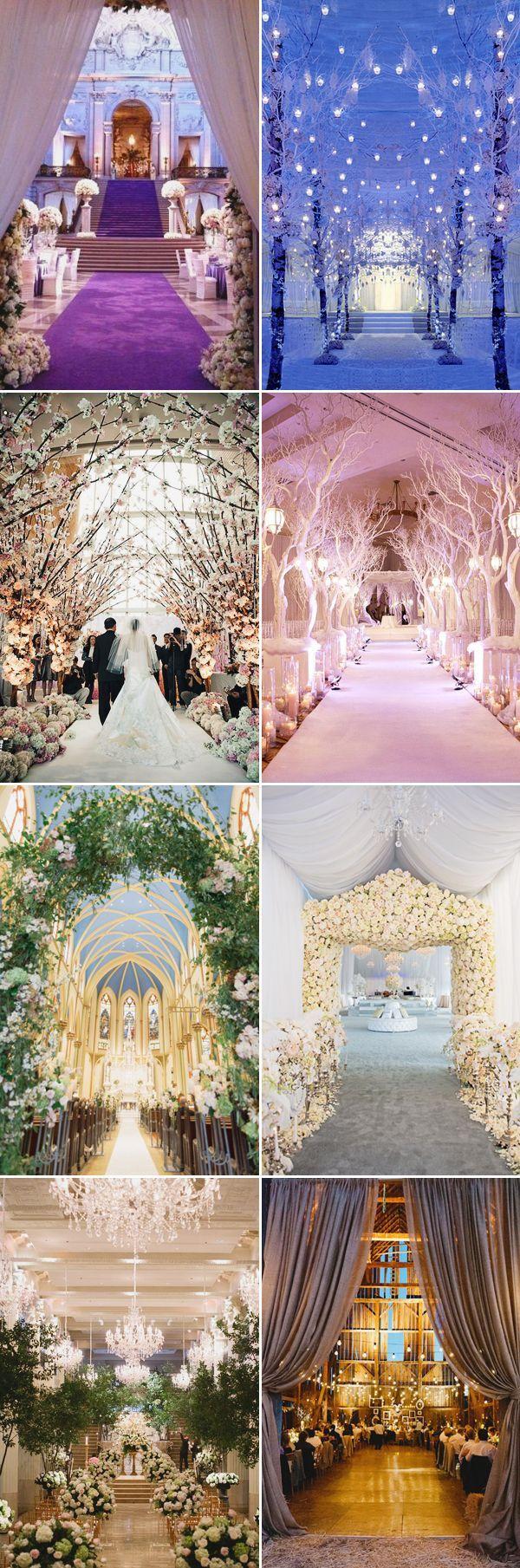 Making a Beautiful Entrance! 26 Creative Wedding Entrance Decor Ideas! Indoor entrance!