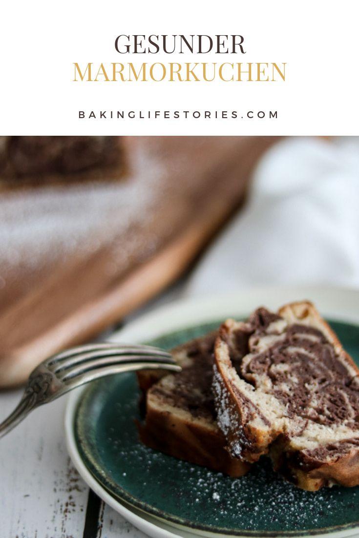 Rezept für gesunden Marmorkuchen gesundes backen | zuckerfreier Marmorkuchen | …